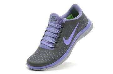 Nike Free 3.0 V4 Femme Cool Gris Mini Bleu