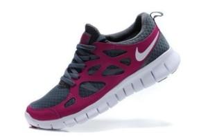 Nike Free Run 2 Femme Sport Gris Fusion Rose